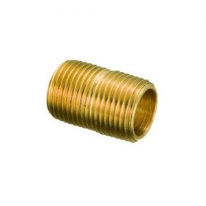 "Less Than 1"" Threaded Brass Nipples"
