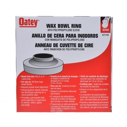 Oatey Wax Rings