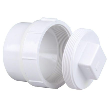 PVC/DWV Clean Out Fittings