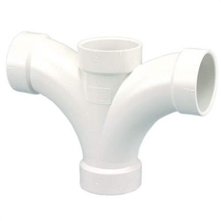 PVC/DWV Double Fixture Fittings
