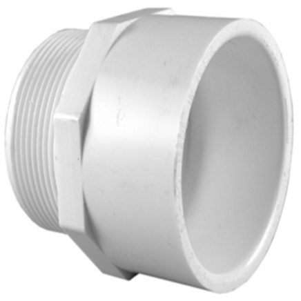 PVC/DWV Threaded Adapters